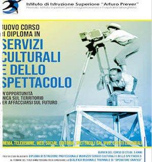 locandina corso servizi culturali e dello spettacolo