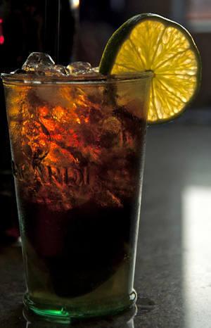 il cocktail cuba libre