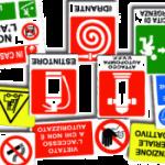 Varietà di segnali di sicurezza
