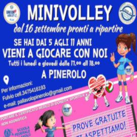 locandina mini volley