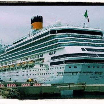 La nave da crociera Costa Pacifica