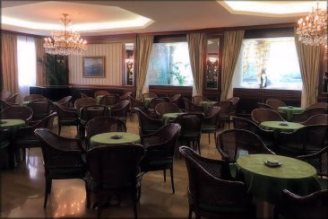 Sala bar dell'hotel