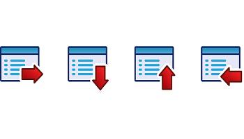 un menu di navigazione web