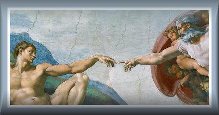 Michelangelo la creazione di Adama