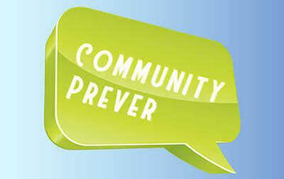 un fumetto con scritto community prever