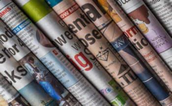 giornali piegati