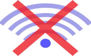 segnale di rete assente